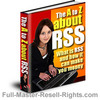 Thumbnail Ebook - The A to Z About RSS With Full Master Resale Rights