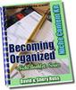 Thumbnail Ebook - Becoming Organized