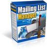 Thumbnail Email List Management Website Script