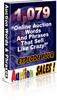 Thumbnail Auction Words - Top eBay Auction Keywords