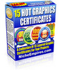 Thumbnail 15 Hot Graphics Certificates - PLR