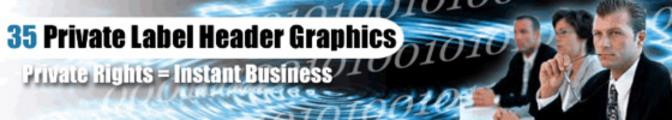 Thumbnail 35 Header Graphics Pack PLR