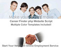 Thumbnail Career php Website Script With MRR