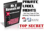 Thumbnail Mr. X Revealed - Interviewed - PLR