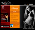 Thumbnail Modeling Agency Flash Website Template