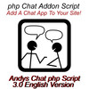 Thumbnail php Andys Chat V3.0 - English Version