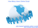 Thumbnail php - How Many Users Online Script