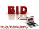 Thumbnail php Auction Website Script Plus