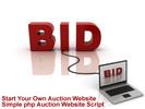 Thumbnail php Auction Website Script Plus