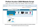 Thumbnail Perfect Auction Website Script 2009 - Full Featured