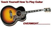 Thumbnail Teach Yourself Guitar Overnight