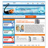 Thumbnail Web Hosting Service Website Template