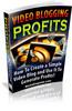 Thumbnail Video Blogging For Profits