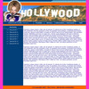 Thumbnail Celebrity - Hollywood website Template