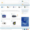 Thumbnail Online Store Computer Sales Website Template