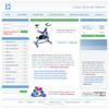 Thumbnail Online Store Fitness & Weightloss Website Template