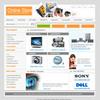 Thumbnail Online Store Flash Electronics Website Template