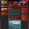 Thumbnail WOW World Of WarCraft Blog Theme and Website Theme