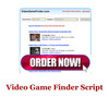 Thumbnail Video Game Finder Script