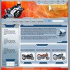 Thumbnail Automotive - Flash Website Template