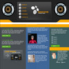 Thumbnail Audio - Music - Radio Station Flash Website Template