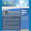 Thumbnail Online Business Flash Website Template