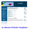 Thumbnail 12 Adsense Ready Website Templates