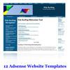 Thumbnail 12 Adsense Ready Website Templates