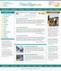 Thumbnail Online Magazine Website Template