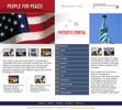 Thumbnail USA Patriotic Website Template
