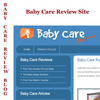 Thumbnail Baby Care Review Site & Baby Care Review Blog Template