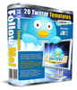 Thumbnail 20 Hot Abstract Twitter Profile Background Templates