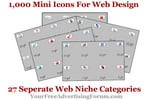 Thumbnail 1,000 Mini Icons For Web Design