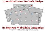 Thumbnail 1,000 Mini Icons For Web Design