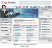 Thumbnail Jobs And Careers - Employment Flash Website Template