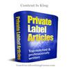 Thumbnail 290 PLR Dietary Supplements Articles