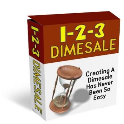 Pay for 1 2 3 Dimesale PHP Online Sales Script