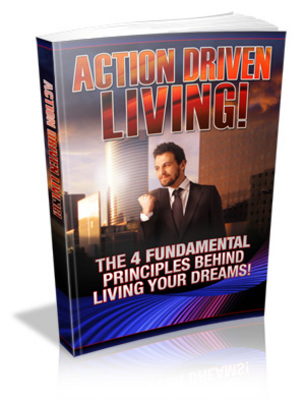 Pay for Action Driven Living Ebook With Master Resale Rights