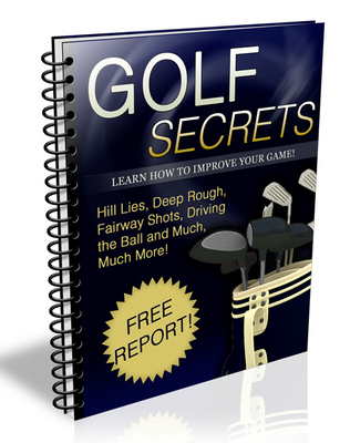 Pay for Golf Secrets Ebook With Private Label Rights