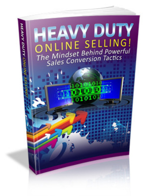 Pay for Heavy Duty Online Selling Ebook With Master Resale Rights