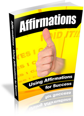 Free Affirmations Ebook With Private Label Rights Download thumbnail