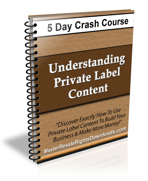 Pay for Understanding Private Label Content Ebook