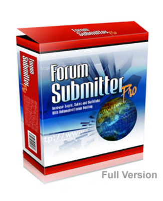 Pay for Forum Submitter Professional FULL