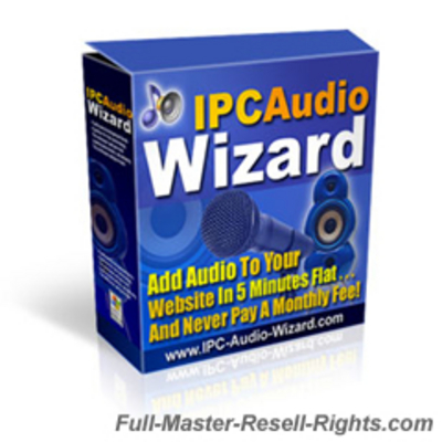 Pay for ICP Audio Wizard - Add Audio To Any Site With Full Master Resale Rights