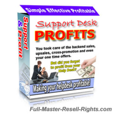 Pay for Support Desk Profits Script With Full Master Resale Rights