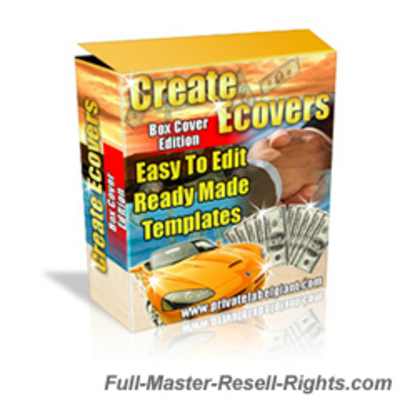 Pay for Ecover & Ebox Creator HOTT Templates Pack With Full Master Resale Rights