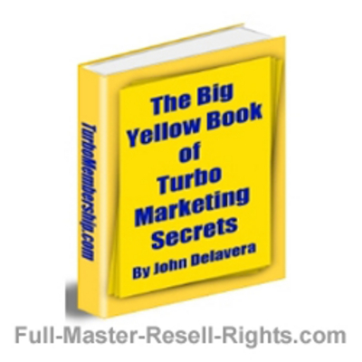 Pay for Ebook - Yellow Book Of Turbo Marketing Secrets With Full Master Resale Rights