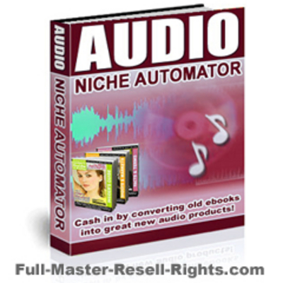 Pay for Audio Niche Automator With Full Master Resale Rights