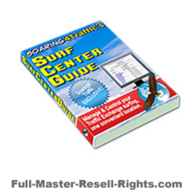 Pay for Ebook - Surf Center Guide With Full Master Resale Rights