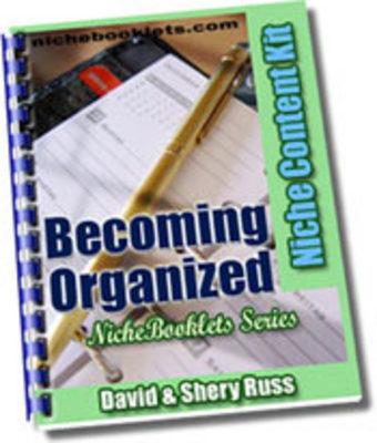 Free Ebook - Becoming Organized Download thumbnail